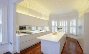 Image result for white corian worktops