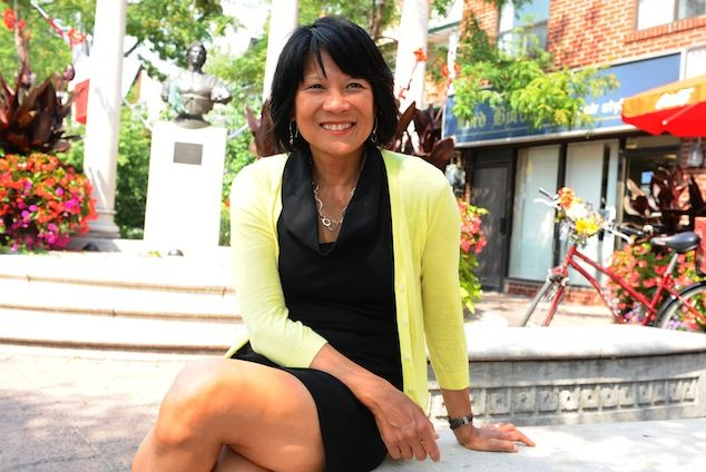 Breakfast, lunch & dinner: Olivia Chow