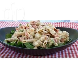 Ensalada de Pasta con Camarones y Palta @ allrecipes.com.ar