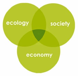 What is #sustainability ? The definition varies from person to person but always includes these three