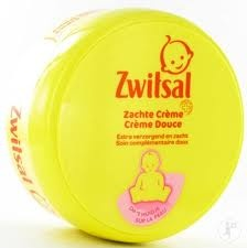 The baby sweet smell of Zwitsal (Dutch) creme.