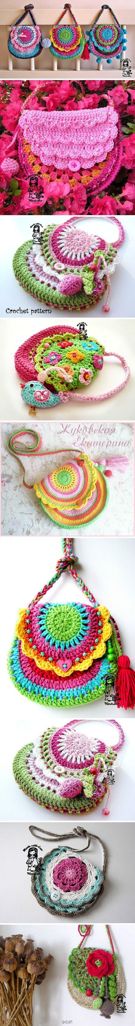 .Purses #crochet #twins #Easter