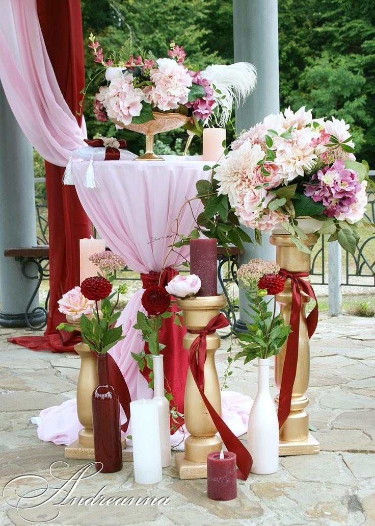 Организация, оформление, декор, свадебные аксессуары Дизайн-студия ANDREANNA