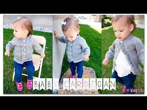 Baby Cardigan KNIT-ALONG! - YouTube