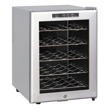 Sunpentown - Thermo-Electric Wine cooler with Platinum Trim, 20-Bottle - $160