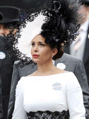 Princess Haya, June 19, 2014 in Philip Treacy | Royal Hats