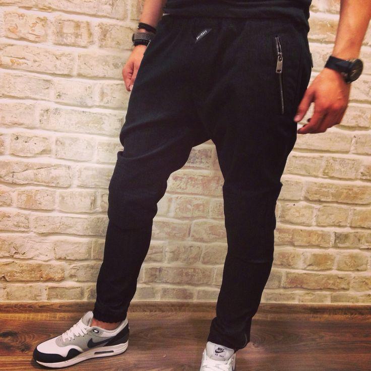 Bulichev sporty zipper jeans