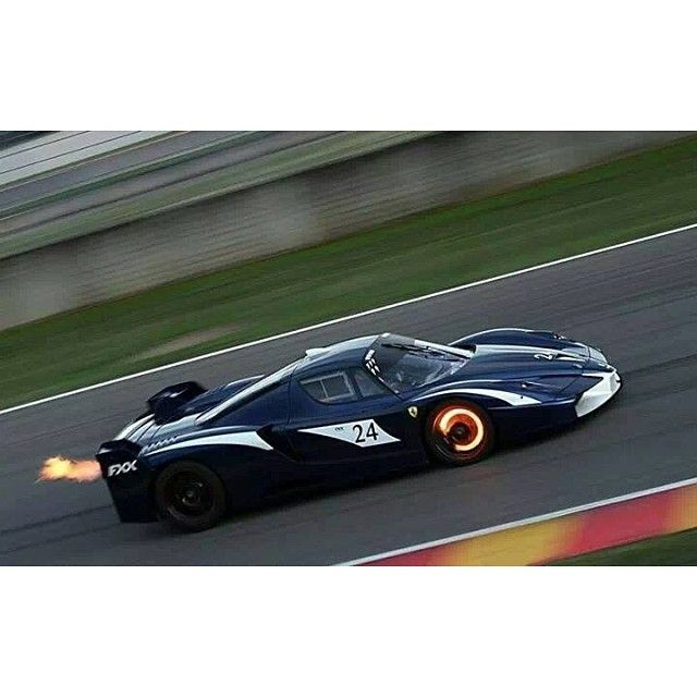 Ferrari Enzo FXX Red Hot And Breathing Fire