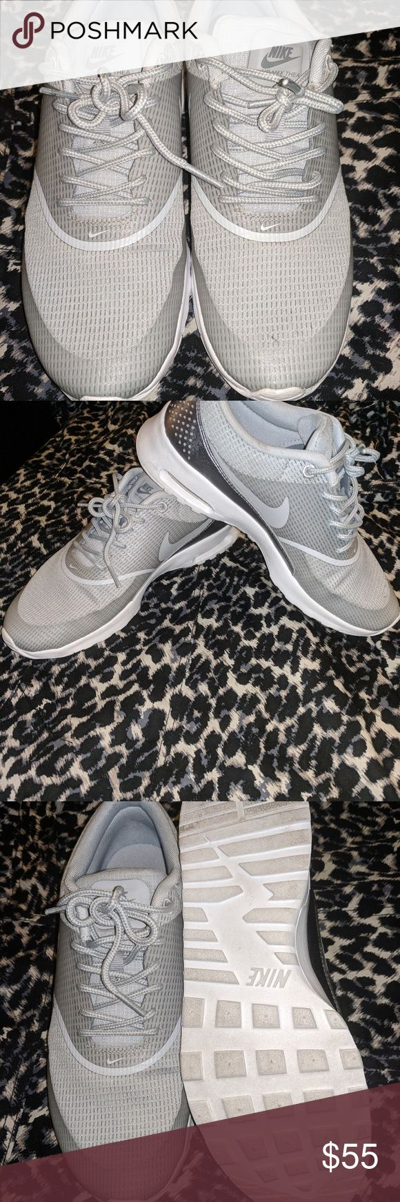 Grey Nike Air Max Thea Grey Air Max Thea  Only worn a few times  Sz 8 Nike Shoes Sneakers