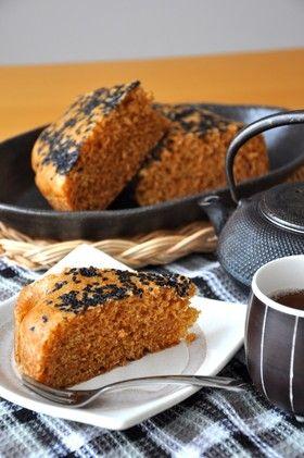 岩手の黒糖蒸しパン *がんづき*(雁月)