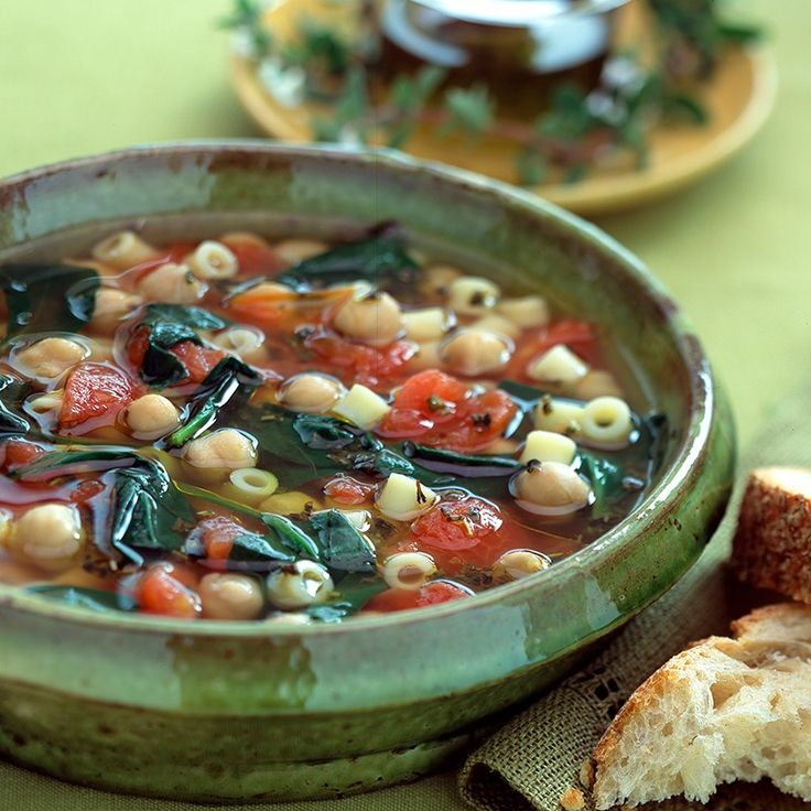 Hearty Spinach And Chickpea Soup Recipes — Dishmaps