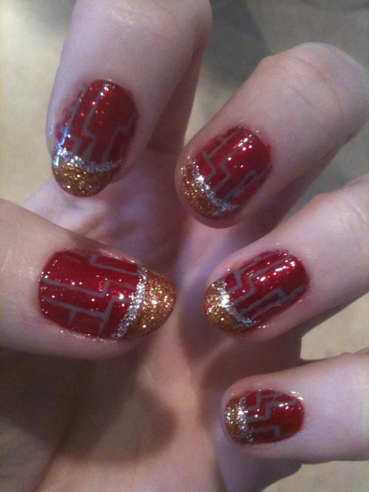 Iron Man nails by ~Shidobukatsu on deviantART
