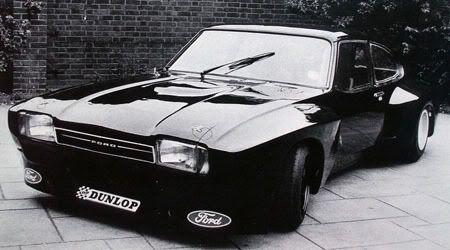 old school : radracerblog:  Ford Capri Widebody