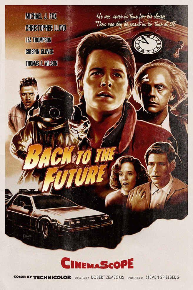 Awesome Art We've Found Around The Net: Back To The Future, Doom, Sharknado - Movie News | JoBlo.com