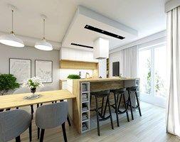 Кухня Жемчужина - фото от НЕФУ Архитекторы
