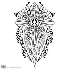 maori cross tattoo - Recherche Google                                                                                                                                                                                 Mais