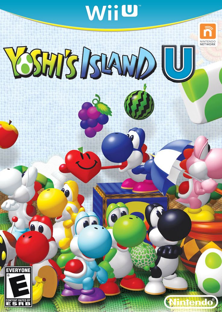 Wii u games. I knew it came out on the ds but i didn't know its on the wii u lol! I wanna see how cool this is. I love yoshi!