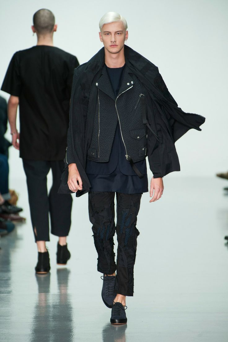 Défile Matthew Miller, homme automne-hiver 2014-2015, Londres. #LFW #fashionweek #runway