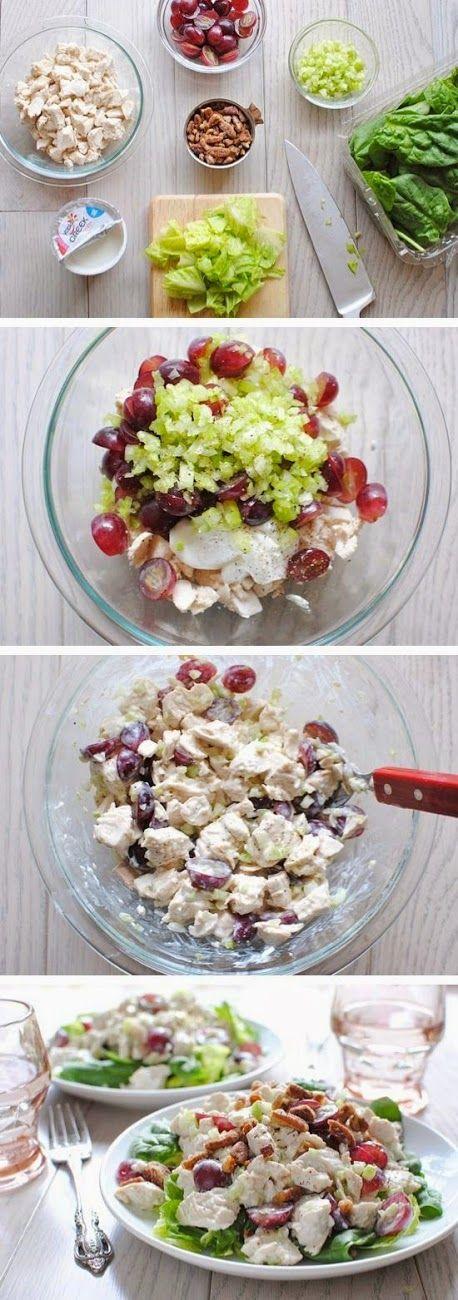 all-food-drink: Greek Yogurt Chicken Salad