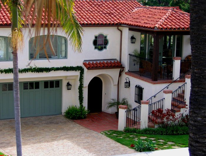 14 best spanish colonial ranches images on pinterest for Spanish revival exterior paint colors