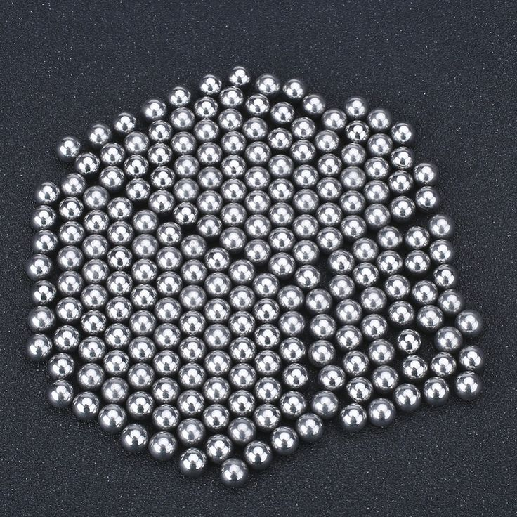 200 Pcs 6mm Diameter Bola Baja Untuk Bantalan Luar Berburu Slingshot Amunisi Hoodle