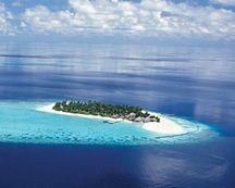 The Maldives....when things settle down again...