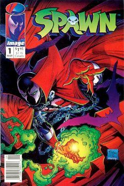 Spawn #1 Value? About $60-70 in CGC 9.8: Spawn #1 Value?  Mint condition 1st printing.  Editor's reply: Spawn #1 (click for current eBay listings) is not a bad comic, considering it was released