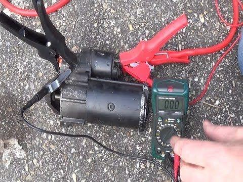 Starter Motor Rebuild - YouTube