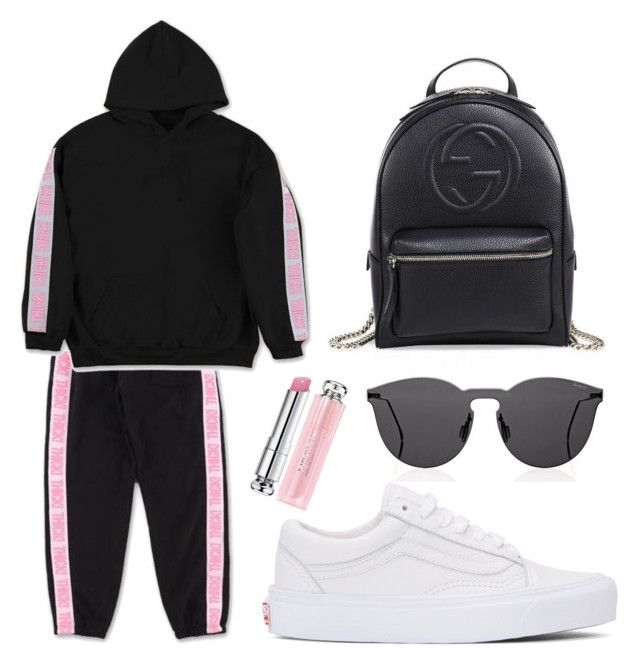 """""""Untitled #363"""" by fweakydarcy on Polyvore featuring Illesteva, Gucci, Vans and Christian Dior"""