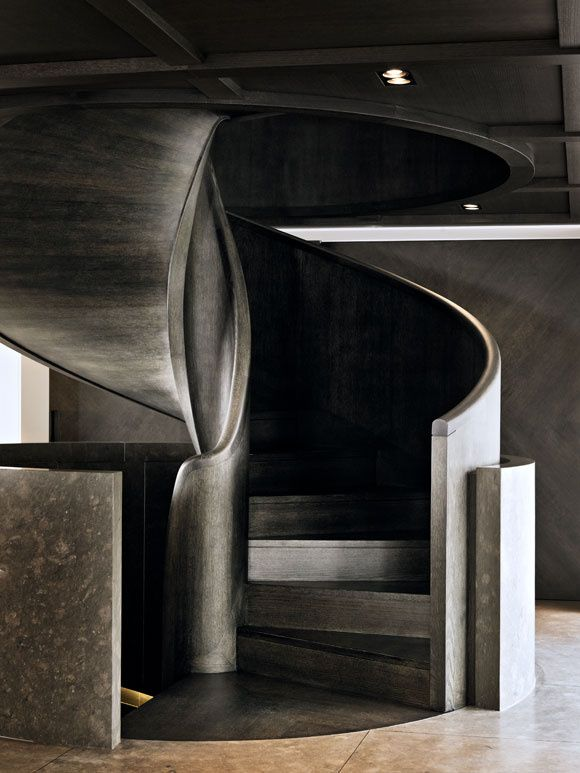 christian liaigre / wooden staircase, athens #design #architecture