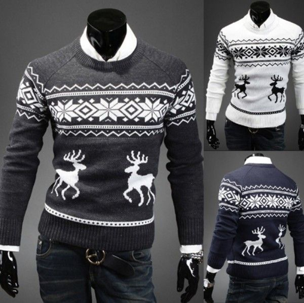 New at Lazaara the Deer Snowflake Pullover for only  27,72 €  you safe  60%.  Casual Wool Deer Snowflake Knitwear Pullover Sweater Top For Men https://www.lazaara.com/en/fashion/13978-deer-snowflake-pullover.html  #Lazaara #Amazing #Shopping #AmazingShopping #LazaaraAmazingShopping