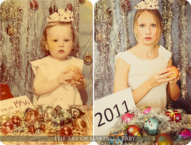 Recreating Childhood Pictures... Then and Now! Neat Idea! These are awesome! I would do this but all of mine are terrible! Thanks mom! lol