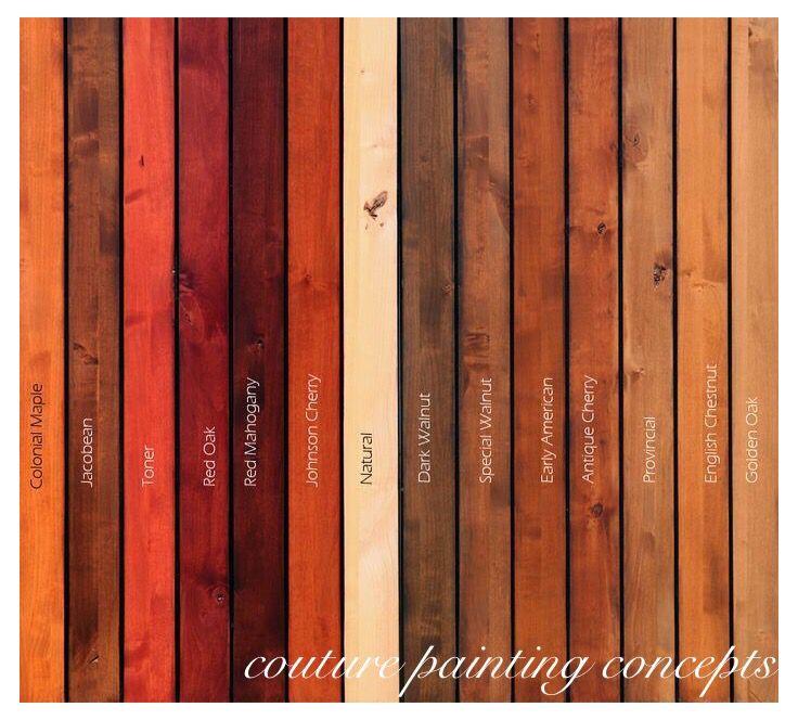 Minwax wood stain colors. Special Walnut or Dark Walnut.