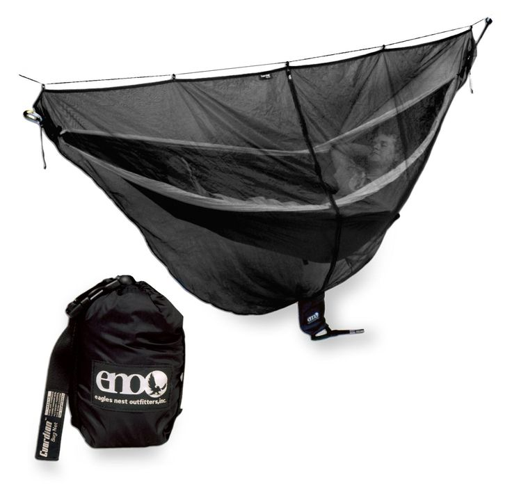 Rest peacefully in your hammock without the bother of bugs with this ENO Guardian bug net. #REIGifts