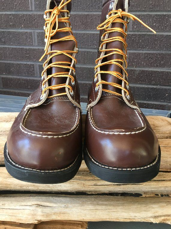 d5a03f96d3a WoRk BooTs SpoRtsMaN s BooTs SeaRs USA 1970 s MoD coMBaT biKeR ruGGeD  huNtiNg ridiNg MecHaNic BooTs NeW ViNtaGe StocK