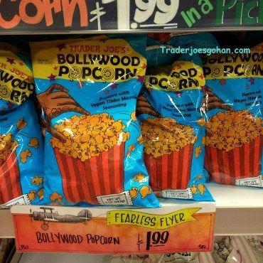 Trader Joe's   Bollywood Popcorn   142g $1.99   トレーダージョーズ  ボリウッドポップコーン   #traderjoes #bollywood #popcorn #トレーダージョーズ #ボリウッド #ポップコーン