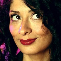 The gorgeous and brilliant British comedian Shappi Khorsandi