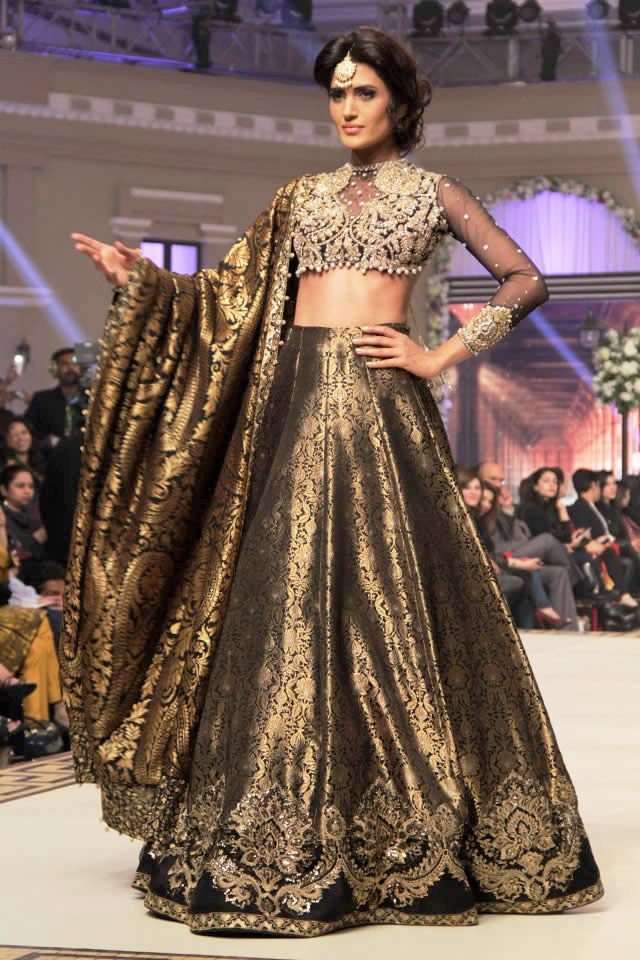 Telenor Bridal Couture Week Day 1 showcased the most exclusive bridal collection of Faraz Manan on Dec 11 at Faletti's.