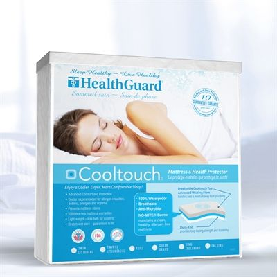 HealthGuard HGCTMP0 CoolTouch Mattress Cover