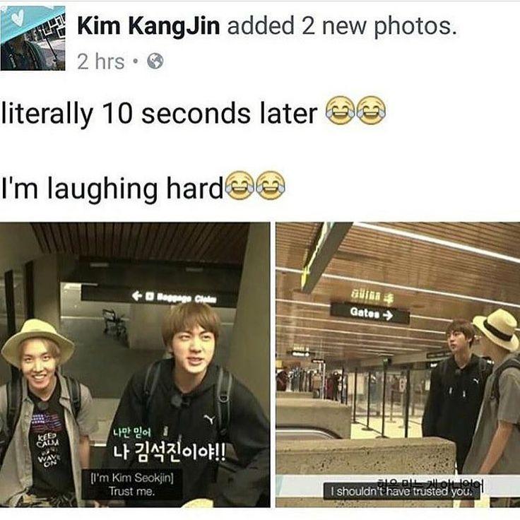 Jin | Essentially why I stan bts