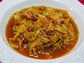 Repollo en guiso Ana Sevilla cocina tradicional