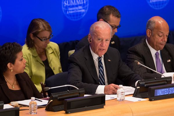 It's time to chosen Lynch Biden Pamela Geller, Breitbart News: Obama Administration and UN Announce Global Police Force to Fight 'Extremism' In U.S.