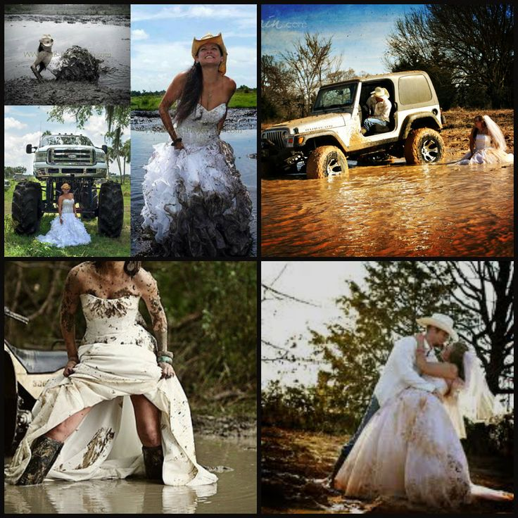 Will Def Be Doing A Trash The Dress With Mud!