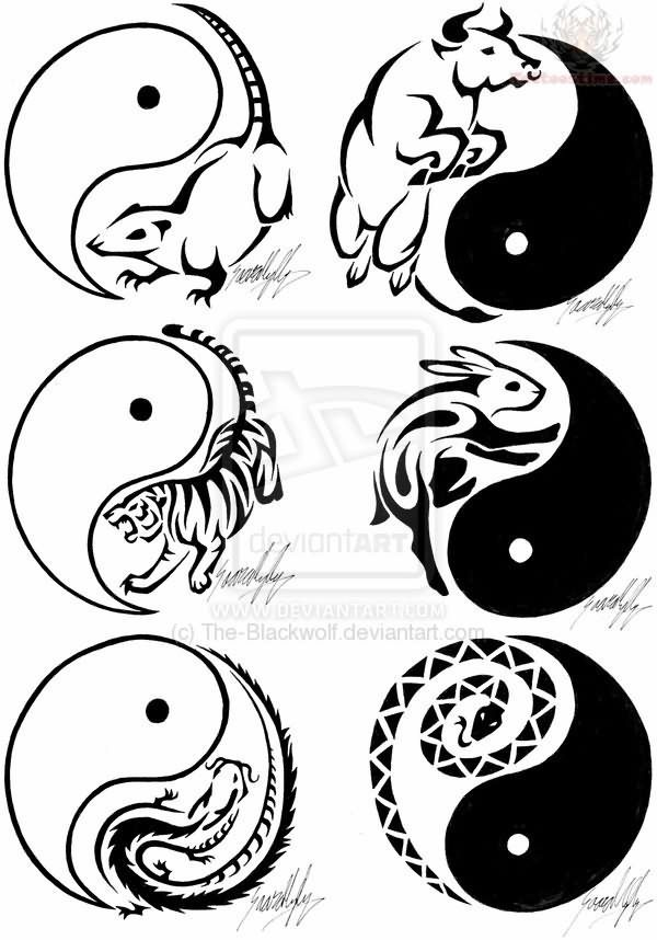 The 56 Best Cool Chinese Zodiac Tattoos Images On Pinterest