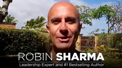 In this new training video, Robin Sharma, international best-selling author, shares How to Get Up Early and get more done in a day than most get done in a month.