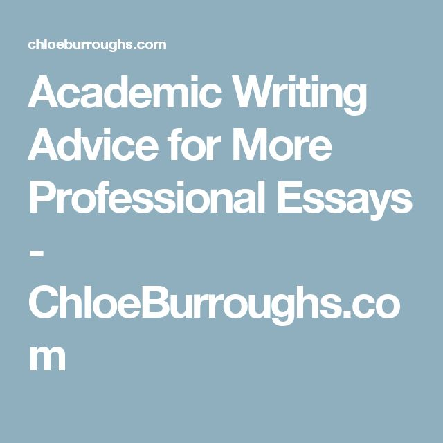Best academic writing