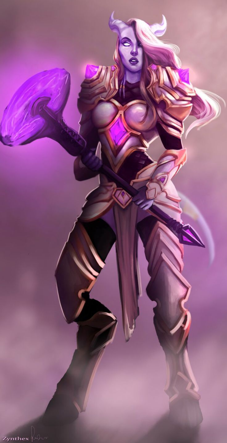 Commission: Draenei by Zynthex on @DeviantArt