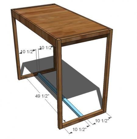 Simple Modern Bar Table