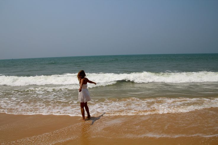 Me and the ocean #goa