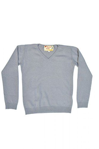 Monsieur Verdoux Cashmere Pullover OSVALD, Color: Grey, : 128